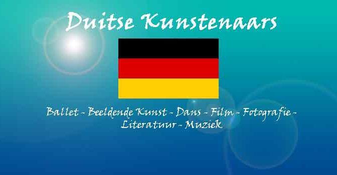 Bekende Duitse Kunstenaars