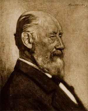 Henrik Willem Mesdag Portret gemaakt door H.J. Haverman