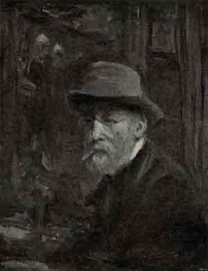 Jozef Israëls Zelfportret 1908