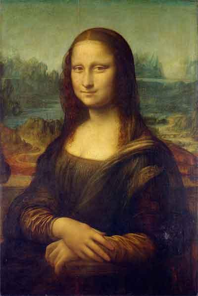 Mona Lisa Portret door Leonardo da Vinci