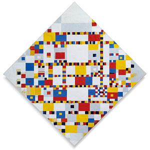 Victory Boogie Woogie Piet Mondriaan Schilder 1944 Gemeentemuseum Den Haag