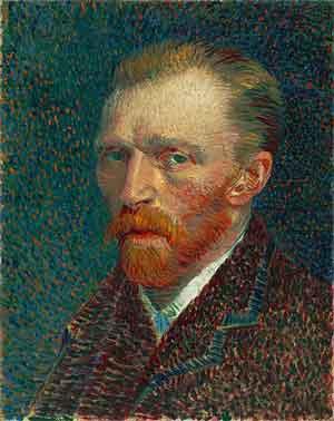 Vincent van Gogh Zelfportret 1887