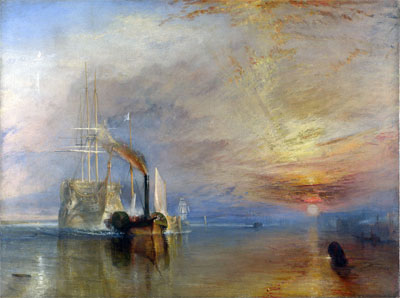 William Turner The Fighting Temeraire 1839 National Galery Londen