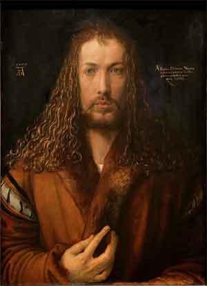 Albrecht Dürer Zelfportret Schilderij uit 1500