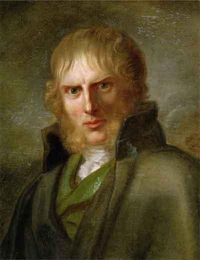Caspar David Friedrich Portret door Gerhard von Kügelgen