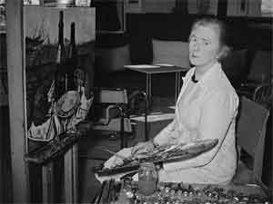 Charley Toorop 1951 Foto Beroemde Schilderessen