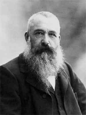 Claude Monet Foto Franse Impressionistische Schilder 1899