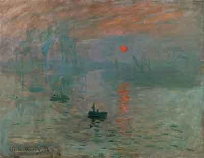 Claude Monet Impression, soleil levant Impressionistisch Schilderij uit 1872