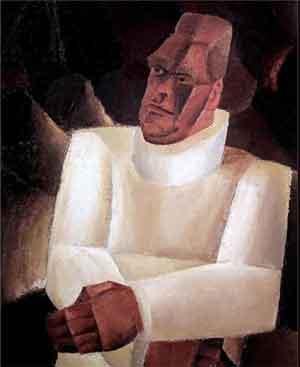 Constant Permeke Portret Frits Van den Berghe Schilderij uit 1923
