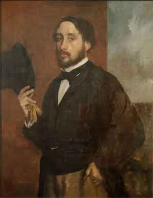 Edgar Degas Zelfportret 1863