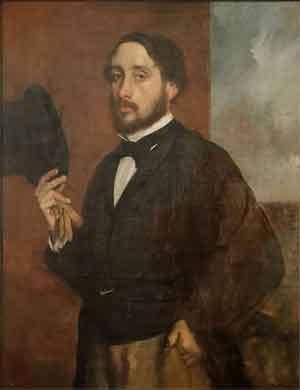 Edgar Degas Zelfportret 1863