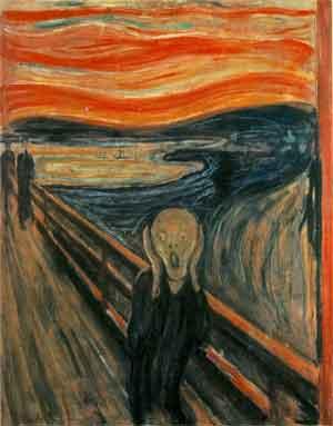 Edvard Munch De schreeuw Schilderij uit 1893