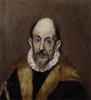 El Greco Zelfportret Metropolitan Museum of Art