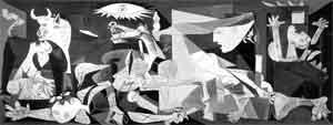 Guernica Pablo Picasso Schilderij uit 1937