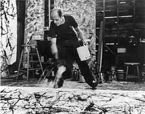Jackson Pollock Foto van Hans Namuth Amerikaanse Schilders