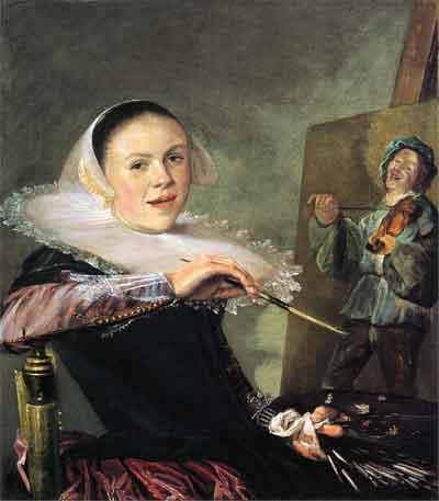 Judith Leyster Zelfportret Schilderij uit 1630
