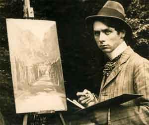Max Ernst Foto 1909 Duitse Schilders
