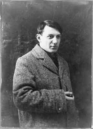Pablo Picasso Foto 1908