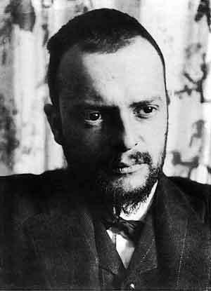 Paul Klee Foto van Alexander Eliasberg 1911