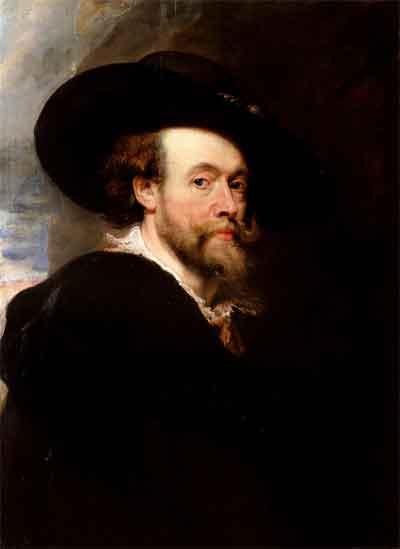 Peter Paul Rubens Zelfportret Schilderij uit 1623