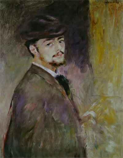 Pierre-Auguste Renoir Zelfportret uit 1876
