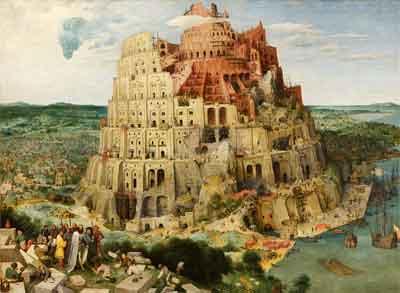 Pieter Bruegel de Oude De Toren van Babel Schilderij uit 1563