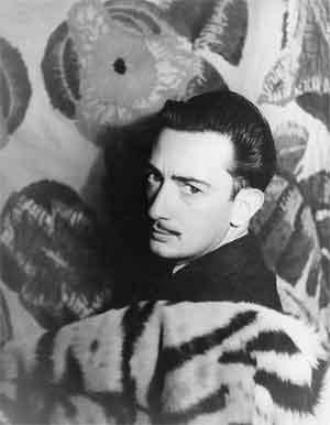 Salvador Dali Foto Carl Van Vechten 1939