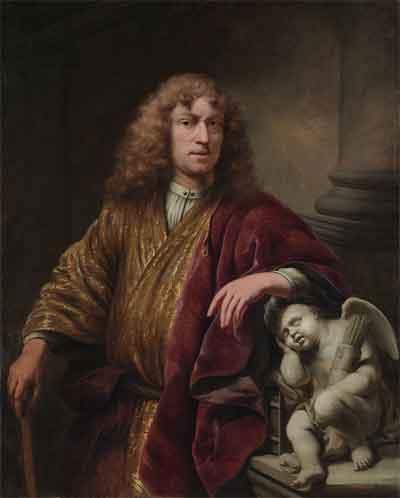 Ferdinand Bol Zelfportret Schilderij uit 1669