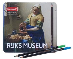 Het Melkmeisje Kleurpotloden Rijksmuseum
