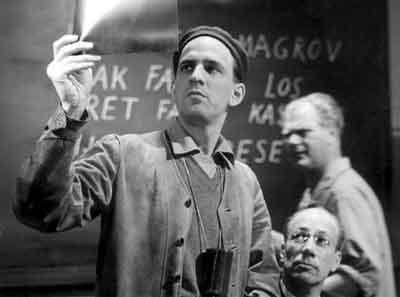 Ingmar Bergman Foto 1957 Wilde Aardbeien