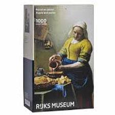 Johannes Vermeer Het Melkmeisje Puzzel 1000 Stukjes Legpuzzel