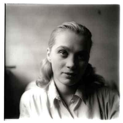 Mai Zetterling Zweedse Actrice Filmregisseur Foto uit 1948