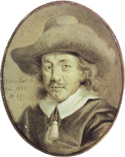 Nicolaes Berchem Zelfportret