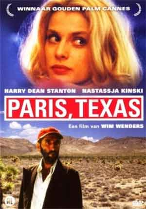 Paris Texas Film van Wim Wenders
