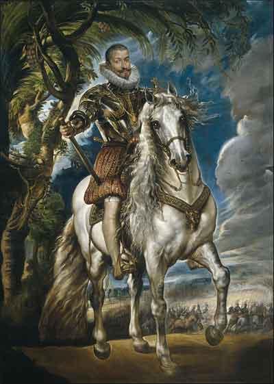 Peter Paul Rubens Schilderij De hertog van Lerma