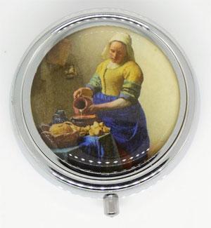 Pillendoosje Het Melkmeisje Johannes Vermeer