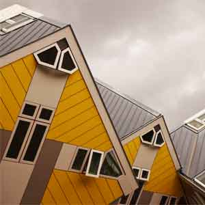 Kubuswoningen Rotterdam Architect Piet Blom