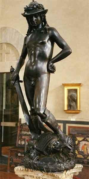 Beroemde Beeldhouwers Overzicht Beelden Donatello David