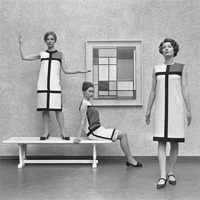 Yves Saint-Laurant-Mondriaan Jurk uit 1965