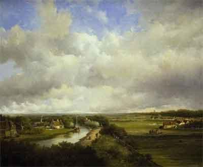 Jan Hendrik Weissenbruch Dekkersduin Schilderij uit 1849