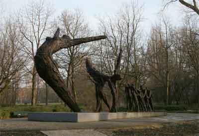 Nationaal Monument Slavernijverleden Beeld van Erwin de Vries 2002
