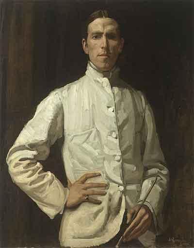 Hugh Ramsay Zelfportret Schilderij uit 1904