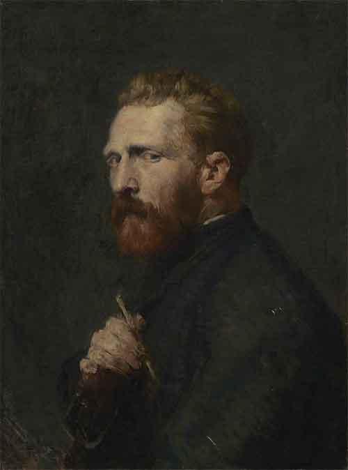 John Peter Russell Schilderij van Vincent van Gogh 1886
