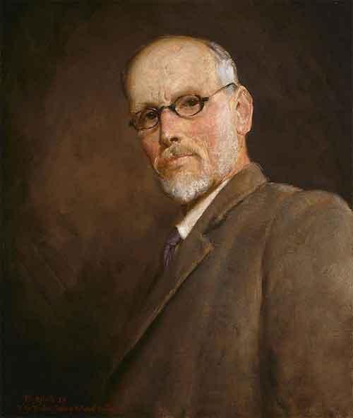 Tom Roberts Zelfportret Schilderij uit 1924