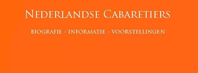 Bekende Nederlandse Cabaretiers