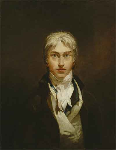 William Turner Zelfportret uit 1799