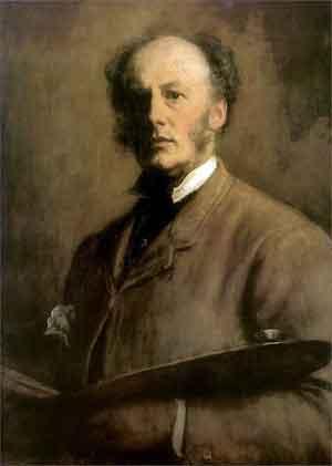 John Everett Millais Zelfportret uit 1881