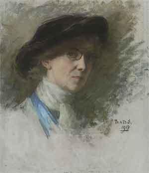 Thérèse Schwartze Zelfportret 1917