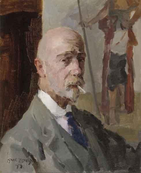 Isaac Israëls Zelfportret 1919