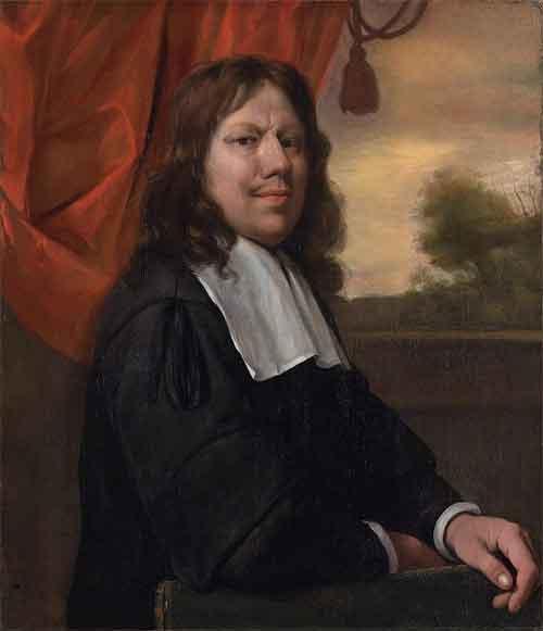 Jan Steen Zelfpotret 1670